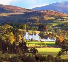 """Visit my Ancestors Castle   """"Blair Castle, Scotland"""""""