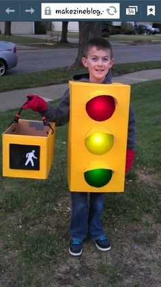 Stop light costume