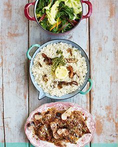 pork marsala porcini rice & spring greens | Pork - Recipes (UK) - Jamie Oliver