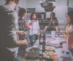 Avec WineB&B, partez à la recherche des bouteilles de vos rêves, réservez et dégustez !   Join a wine lovers community ! Flute Champagne, Movie Posters, Vineyard, Wine Tasting Party, Bottle, Searching, Film Posters, Billboard