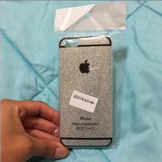 Glitter iphone 6/s case Silver glitter iphone case. New not used brand new. Accessories Phone Cases