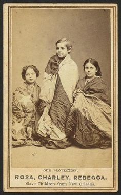 """In 1863 and eight former slaves toured the northern states to raise money for impoverished African-American schools in New Orleans; four children with mixed-race ancestry and pale complexions. Community Post: Historic Photographs Of """"White"""" Slaves Us History, History Facts, Black History, Slavery History, British History, History Books, Ancient History, Interesting History, African American History"""