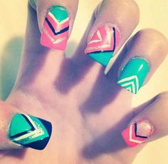 71 Best Aztec Nail Art Images On Pinterest Hair Beauty And Pretty