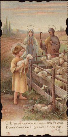 Holy Cards for Children: Good Shepherd