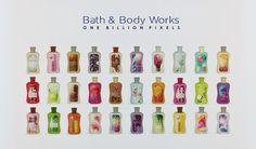 One Billion Pixels: Bath & Body Works Shop and Set - FIXED