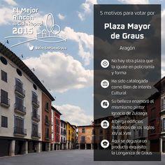 5 Motivos para votar a la Plaza Mayor de Graus (Aragón) para que se convierta en El Mejor Rincón 2015