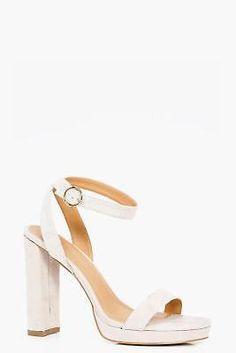 Boohoo Womens Isabel 2 Part Platform Heel #ad #shoes #heels #sandals #womensfashion #shopping #fashion #WomanAccessories #WomenShoes #OnlineShop #Accessories #Online #Woman