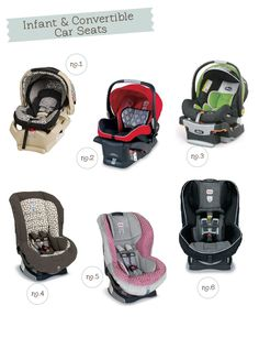 Car Seat Comparison Guide | Hellobee