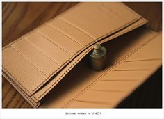 Leather Wallet Pattern, Long Wallet, Leather Craft, Wallets, Blog, Handmade, Inspiration, Collection, Leather Crafts