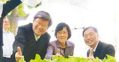 教育部長吳思華造訪台南市虎山國小水耕農場