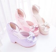 zapatos de lujo kawaii dulces girly kfashion moda coreana asiáticos sandalias de moda lolita japonesa Moda Hime jfashion k moda Taobao nymphet J Moda estilo lindo de la moda asiática espacio plaeteau