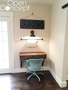 Floating Desk Wall Mounted Desk Walnut by FormollyDesks on Etsy ...