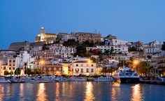 The old fort, D'Alt Vila (the Old Town) - Ibiza, Spain  Where Damon asked me to marry him!