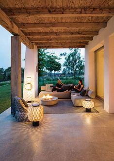 DEDON BRIXX Outdoor Loungegruppe, Gartensofa Loungemodule | Indoor ...