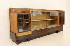 Rare Art Deco Haagse School Sideboard by 't Woonhuys Amsterdam   From a unique collection of antique and modern sideboards at https://www.1stdibs.com/furniture/storage-case-pieces/sideboards/