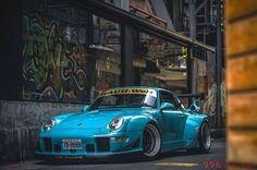 My Baby Blue.....RWB 996 Rauh-Welt Porsche