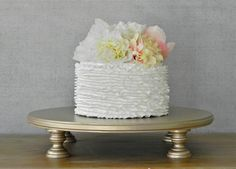 12 best Gold Cake Stands images on Pinterest | Gold cake stand, 18th ...
