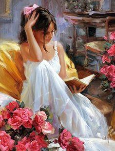 Pino Daeni 36 #art #painting #woman