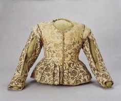 Linen jacket embroidered with silk, 1620-1625
