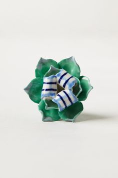 Handpainted Blossom Knob - Anthropologie.com