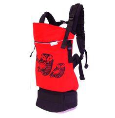 Egyedi Magyarinda csatos babahordozó ÓRIÁS pirosban is jól mutat a kuvikos Backpacks, Bags, Fashion, Handbags, Moda, Fashion Styles, Backpack, Fashion Illustrations, Backpacker