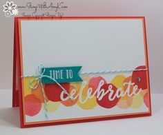 I used the Stampin' Up! Happy Celebrationsstamp set from the upcoming 2017 Occasions Catalog to create a celebrate cardfor the Happy Stampers blog hop. We've got a sketchchallenge this weekand…