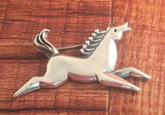 RARE James Avery Enid Collins of Texas Horse Brooch Pin 925 Sterling Silver #JamesAvery