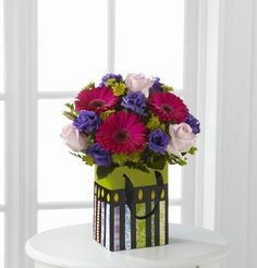 Perfect Birthday Gift Bouquet Sends Sweet Wishes For A Spectacular Celebration Canada Floral Delivery
