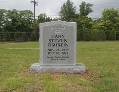 Photo of West Memorials - Memphis, TN, United States. Traditional and unique, gray granite headstone. Please visit our gallery at WestMemorials.com for monument designs.