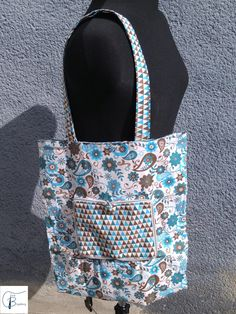 Tina Blogsberg: Einkaufsbeutel Prototyp