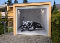 Garagentor design aufkleber  Fotoplane für Garagentor Military Offroader / Garage Mural ...