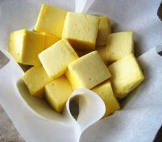 Superfood Turmeric Marshmallows (Paleo, AIP) from Flash Fiction Kitchen