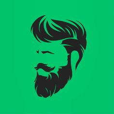 [New] The 10 Best Home Decor Today (with Pictures) Beard Logo, Beard Tattoo, Mens Hairstyles With Beard, Hair And Beard Styles, Logo Inspiration, Dibujos Dark, Barber Logo, Beard Art, Barbershop Design