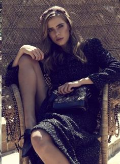 Dress, bag, shoes, all - Chanel Christian Dior Dress, Hugo Boss, Talbots, Editorial Fashion, Gentleman, Sequin Skirt, Hair Makeup, Michael Kors, Lady