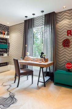 Ambiente por Spaço Interior    #quarto #decoração #bedroom #inspiration #decor #bedroomdecor #lovedecor #grafismo #grafite #beliche