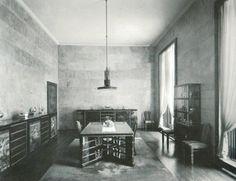 Villa Necchi Campiglio | original dining room and furniture | Portaluppi