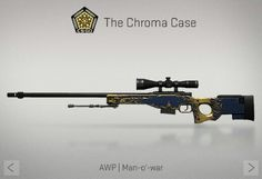 AWP | Mam-o'-war | Chroma Case | CS:GO | SKIN