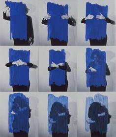 Helena Almeida. Para um enriquecimiento interior, 1976