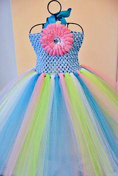 Custom tutu dress - you chose colors Sizes newborn -8 available through the store