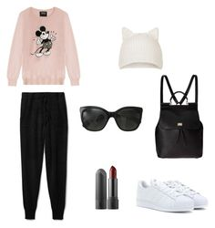 """""""Untitled #9"""" by saramhm on Polyvore featuring Theory, Markus Lupfer, adidas Originals, Dolce&Gabbana, Topshop and Chanel"""