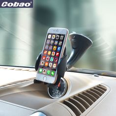 Universal smartphone car holder windshield mobile phone mount holder stand 360 Rotating for Iphone 5s 6 6s galaxy s4 s5 s6 s7