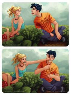 Strawberry fight!!