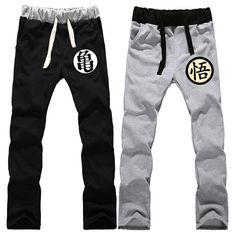 Dragon Ball Z Son Goku Pants Sweat Pants //Price: $37 & FREE Shipping //