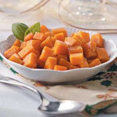 Garlic-Roasted Sweet Potatoes - loaded with important health-promoting nutrients and fiber