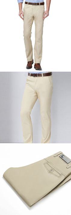 YUNY Mens Relaxed Fit Solid Linen Cotton Training Oversized Casual Trousers Beige White 2XL