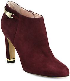 Kate Spade New York Aldaz Suede Buckle Ankle Boots  $398.00 $159.20