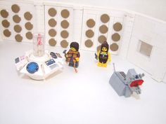 While it looks like we may be getting an official Doctor Who Lego set later this year, in all likelihood, it will be based off the current series. Which is fine, especially if it in any way compares to this absolutely glorious reproduction of Matt Smith's console room that somebody recently came up with. But some of us grew up with the classic series, and by golly, we miss the round things... even if we have no idea what they were for.