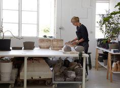 Carina Seth Andersson  | studio visit with Leslie Williamson