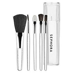 Ready for your close up? SEPHORA COLLECTION - Mini Clear Brush Set #sephora