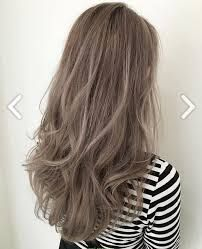 Image result for asian ash brown hair
